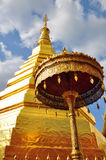 Travel to Wat Phra That Cho Hae . Stock Image