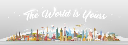 Travel to World. Royalty Free Stock Image