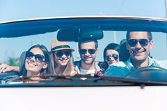 We always travel together! Royalty Free Stock Images