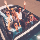 We always travel together! Royalty Free Stock Image
