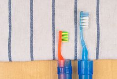 Travel Tooth Brush Royalty Free Stock Photo