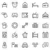 Travel and Tour Isolated Vector Icons Pack that can be easily modified or edited. royalty free illustration