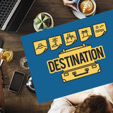 Travel Tour Trip Vacation Holiday Concept Royalty Free Stock Photography