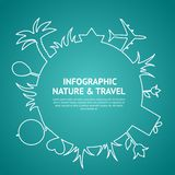 Travel and tourism. Royalty Free Stock Images