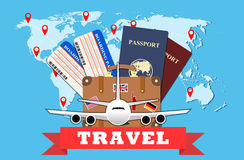 Travel and tourism concept. Stock Photo