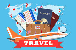 Travel and tourism concept. Royalty Free Stock Image