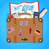 Travel and tourism concept. Stock Images