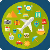 Travel and tourism concept Stock Images