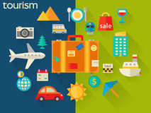 Travel and tourism concept Stock Image