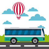 travel and tourism design Royalty Free Stock Image