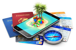 Travel, tourism, holidays and vacations concept Royalty Free Stock Photography