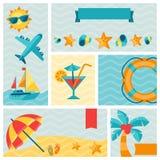 Travel and tourism icon set Royalty Free Stock Photos