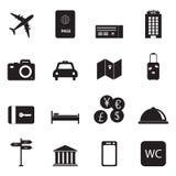 Travel and tourism icons. Travel and tourism icon set. Vector illustration Royalty Free Stock Photo