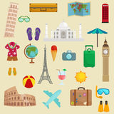 Travel tourism icons vector illustration Stock Image