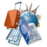 Travel and tourism Royalty Free Stock Image