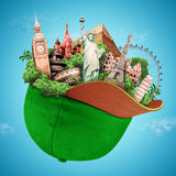 Travel, tourist attractions Royalty Free Stock Images