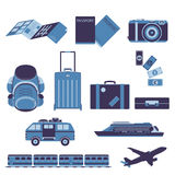 Travel Tourist and Journey Vector Stock Photos