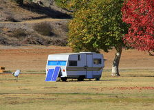 Travel Trailer Home Stock Photography