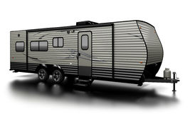 Travel Trailer Royalty Free Stock Photos