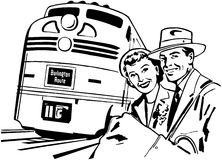 Travel By Train Stock Images