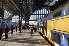 Travel by train. Royalty Free Stock Photo