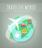 Travel Transport Concept Royalty Free Stock Images