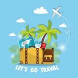 Travel 01 vector illustration