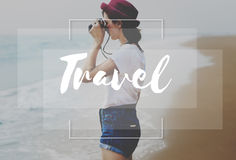 Travel Traveler Exploration Tourism Vacation Trip Concept stock photography