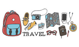Travel Traveling Tourist Holiday Vacation Journey Concept Royalty Free Stock Photos