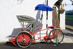 Travel Tricycle Stock Image