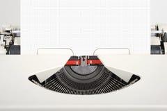 Travel typewriter Stock Photo
