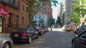 Travel urban New York. Motion video tour of New York USA stock video