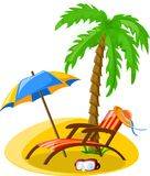 Travel vacation vector background Stock Image