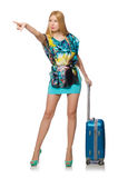 Travel vacation concept with luggage Stock Image