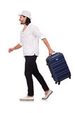 Travel vacation concept with luggage Royalty Free Stock Image