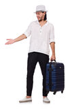 Travel vacation concept with luggage Stock Photo