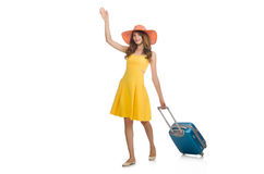 Travel vacation concept with luggage Stock Images