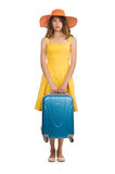 Travel vacation concept with luggage Stock Photography