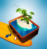 Travel and vacation concept Royalty Free Stock Photo