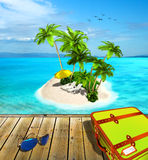 Travel and vacation concept Stock Images