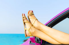 Travel vacation freedom beach concept Royalty Free Stock Images