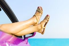 Travel vacation freedom beach concept Stock Image