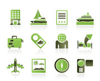 Travel, vacation and holidays icon Royalty Free Stock Images