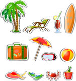 Travel vacation  icons,vector Stock Images