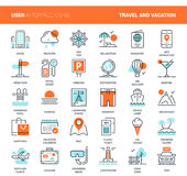 Travel and Vacation Royalty Free Stock Photography