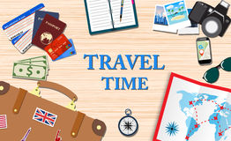 Travel and vacations concept Royalty Free Stock Photos