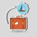 Travel vacations  design Stock Photos