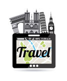 Travel vacations Royalty Free Stock Photo