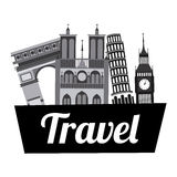 Travel vacations Royalty Free Stock Images
