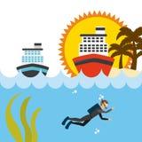 Travel vacations Royalty Free Stock Photo
